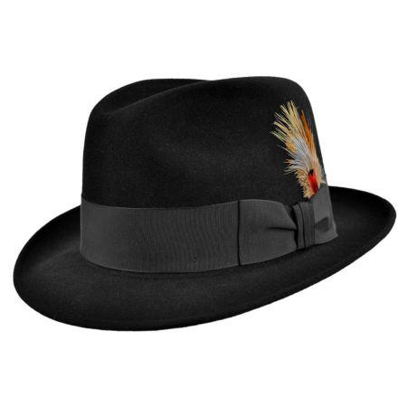 You re viewing  STETSON SAXON FUR FELT HAT BLACK  150.00 439faac2201